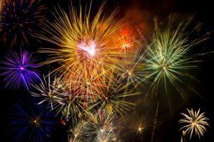 Tenerife fireworks