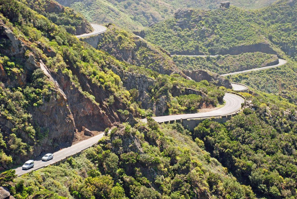 Bailadero Mountain Road