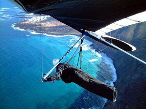 Lanzarote hang-gliding