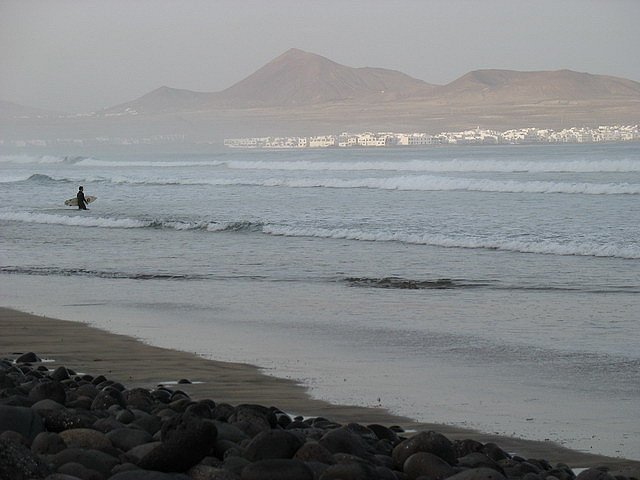 Lanzarote surf time