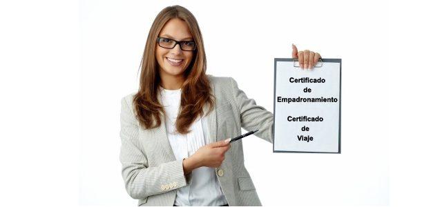 Certificado de Empadronamiento in Tenerife