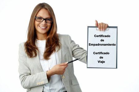 Certificado de Empadronamiento new
