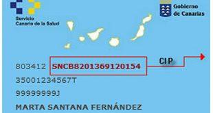 Tenerife Health Card