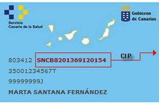 Tenerife Health Card