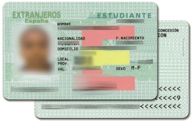 spanish residency card