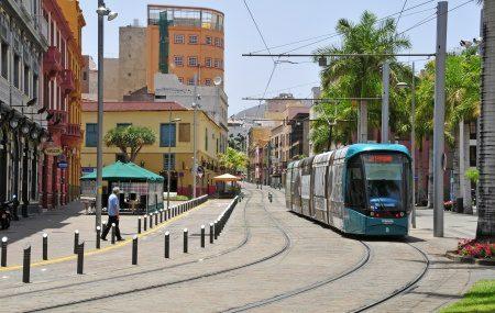 Tram in Santa Cruz