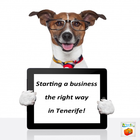 Starting a business in Tenerife