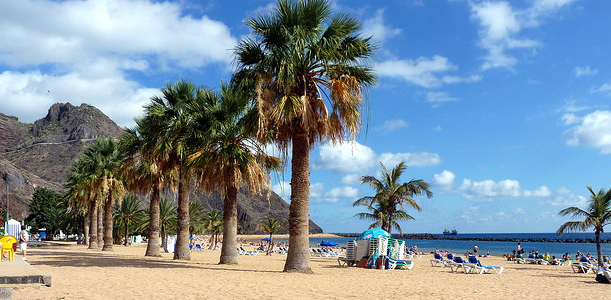 Las Teresitas - Tenerife weather in January