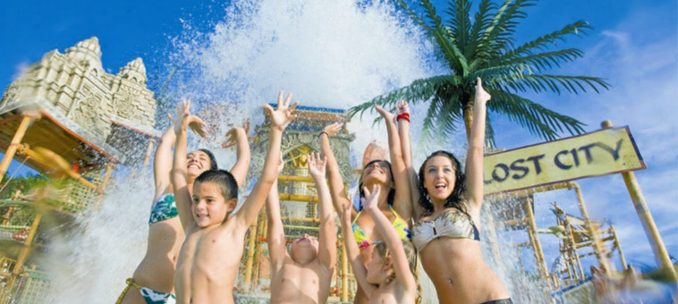 Children at Siam Park Tenerife