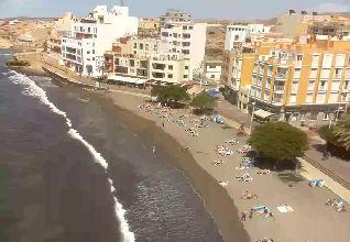 El Medano beach webcam