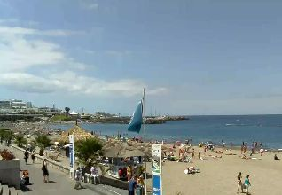 Playa de Fanabe webcam