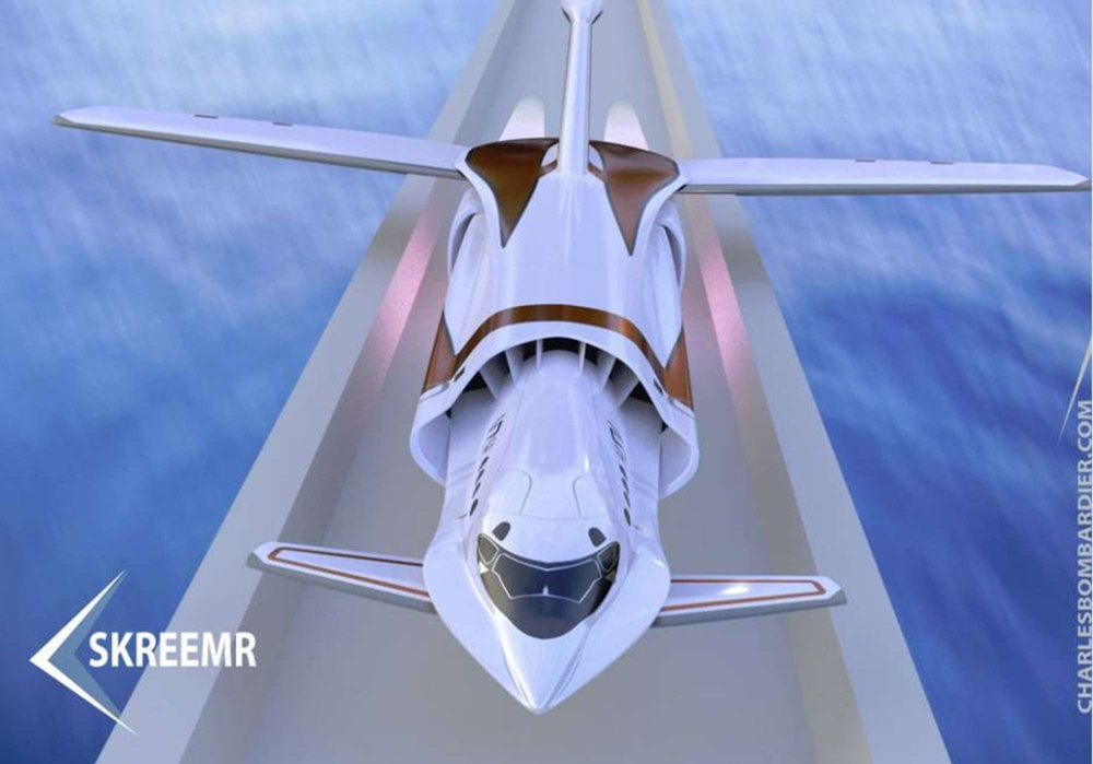 Skreemr concept jet