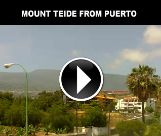 Mount Teide from Puerto