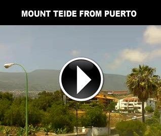 Mount Teide from Puerto
