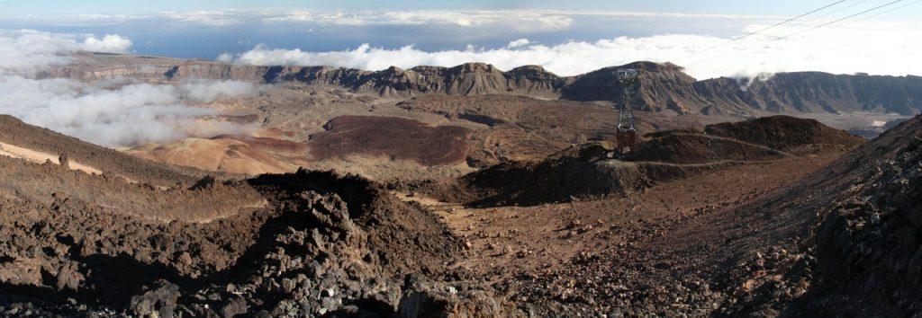 Mount Teide crater