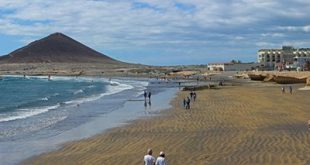 El Medano to Golf del Sur walk Tenerife