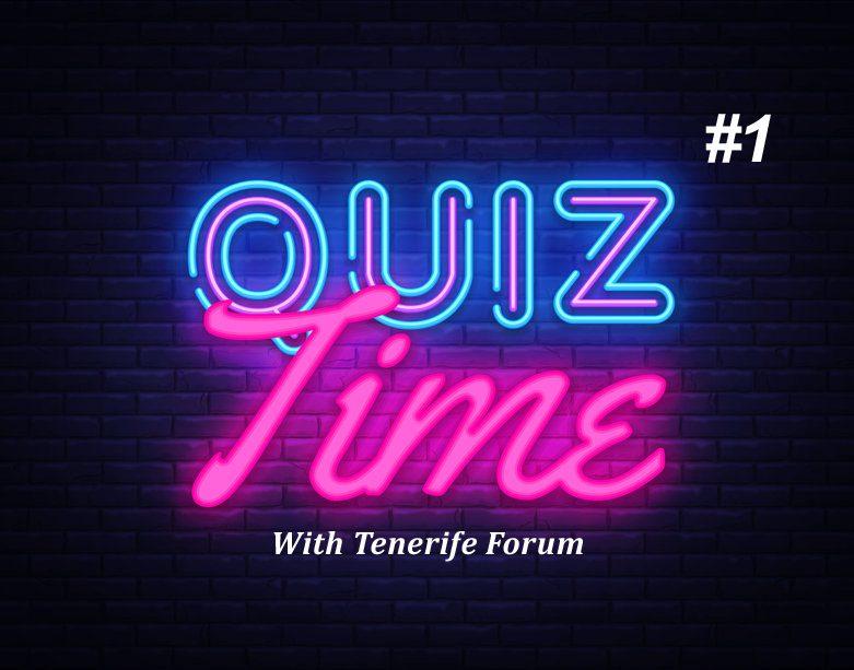 Tenerife Quiz 1