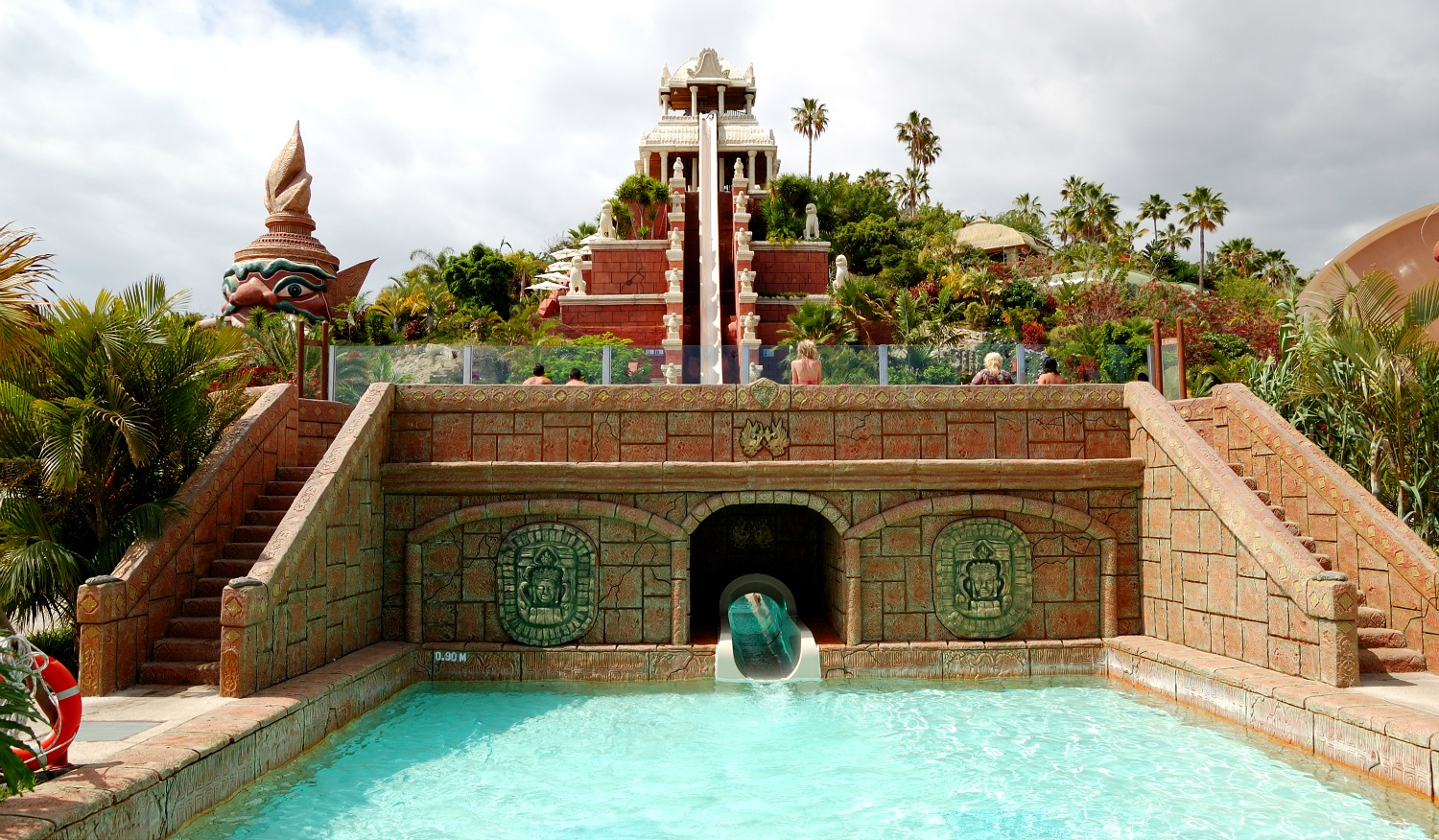 The Tower of Power water slide